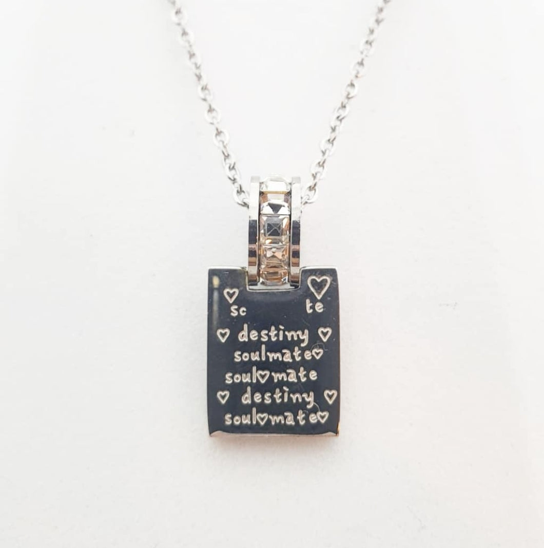 Destiny Soulmate Pendant Necklace