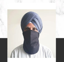 Load image into Gallery viewer, Face Mask for Long Beards and/or Turbans/Headwear- AS SEEN ON TV
