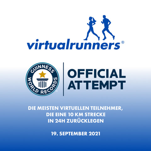 virtual runners - guinness world record official attempt