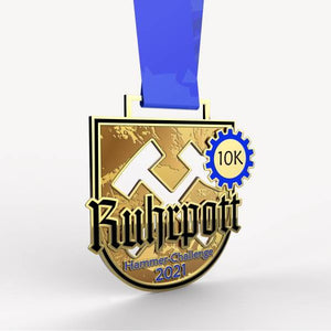 virtueller lauf virtual run marathon medaille Hammer Challenge