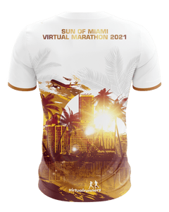 virtueller lauf shirt back Miami