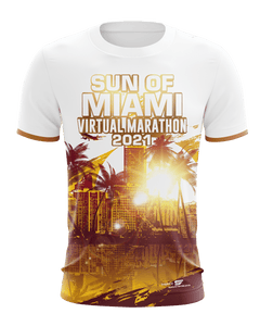 virtueller lauf shirt front Miami