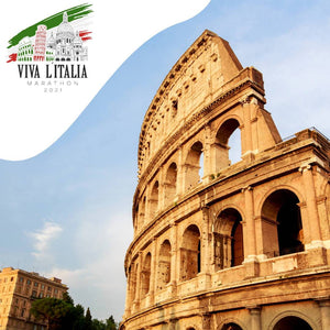 virtueller lauf marathon virtual running Viva l'Italia