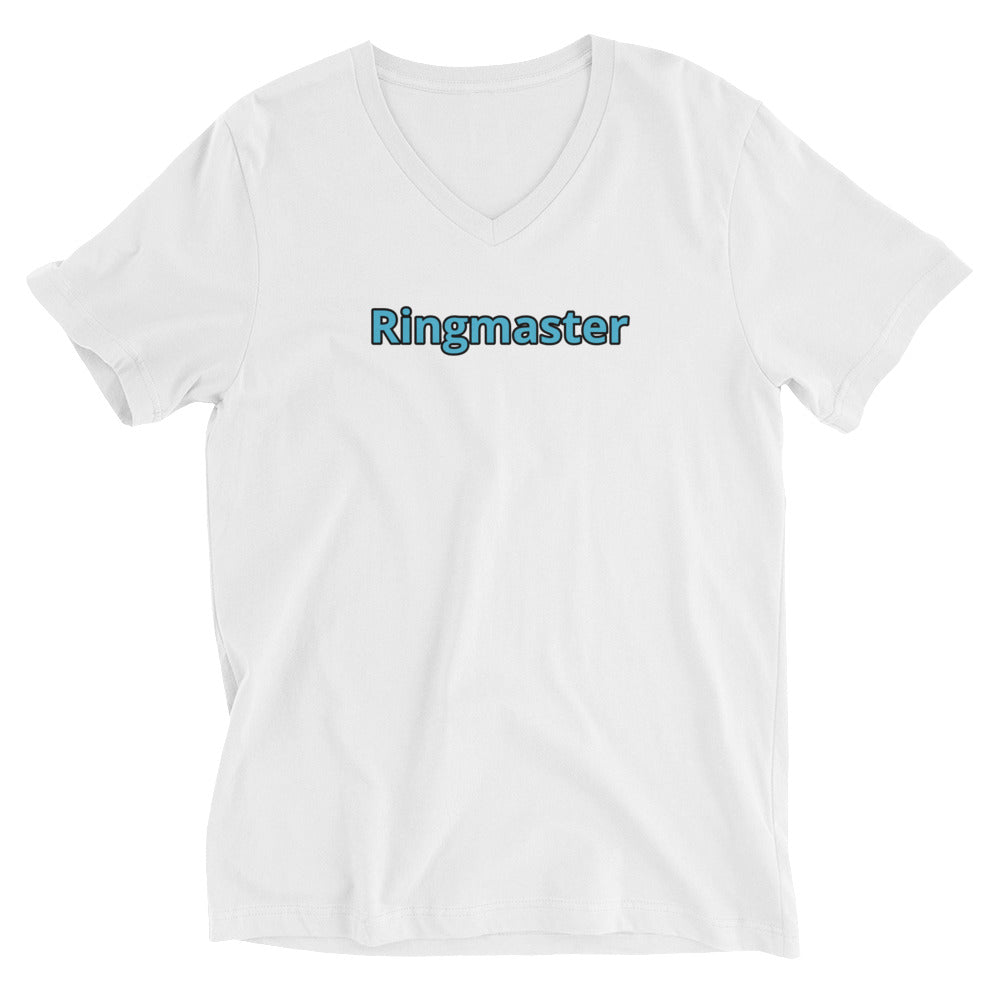 Ringmaster Unisex Short Sleeve V-Neck T-Shirt
