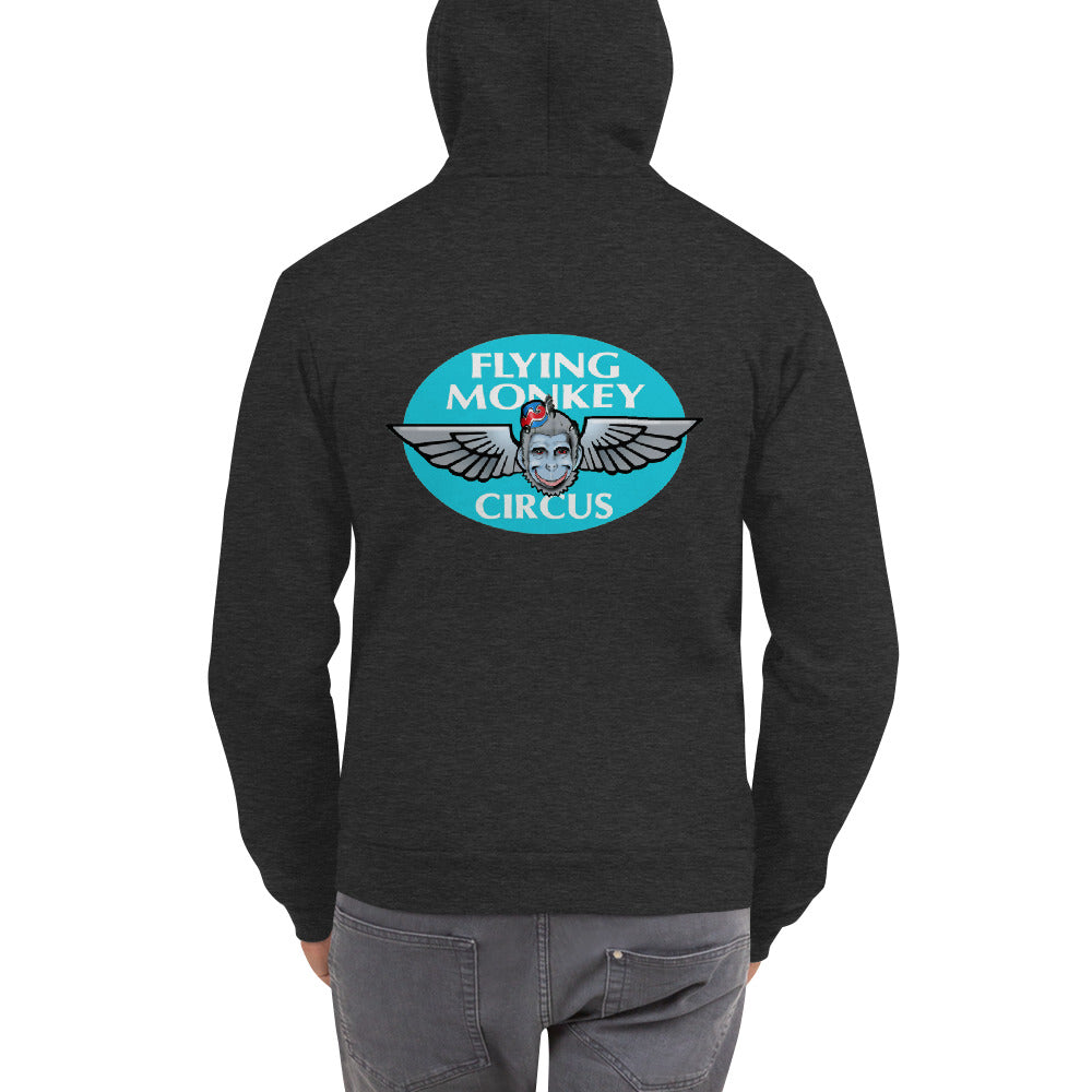 Flying Monkey zip hoodie