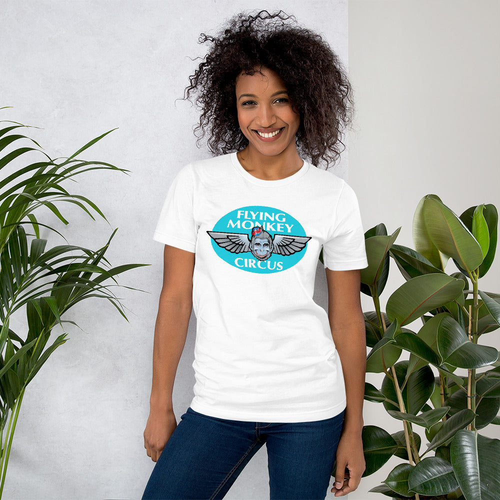 Flying Monkey front logo Short-Sleeve Unisex T-Shirt