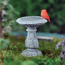Load image into Gallery viewer, Cardinal Bird Bath Pick