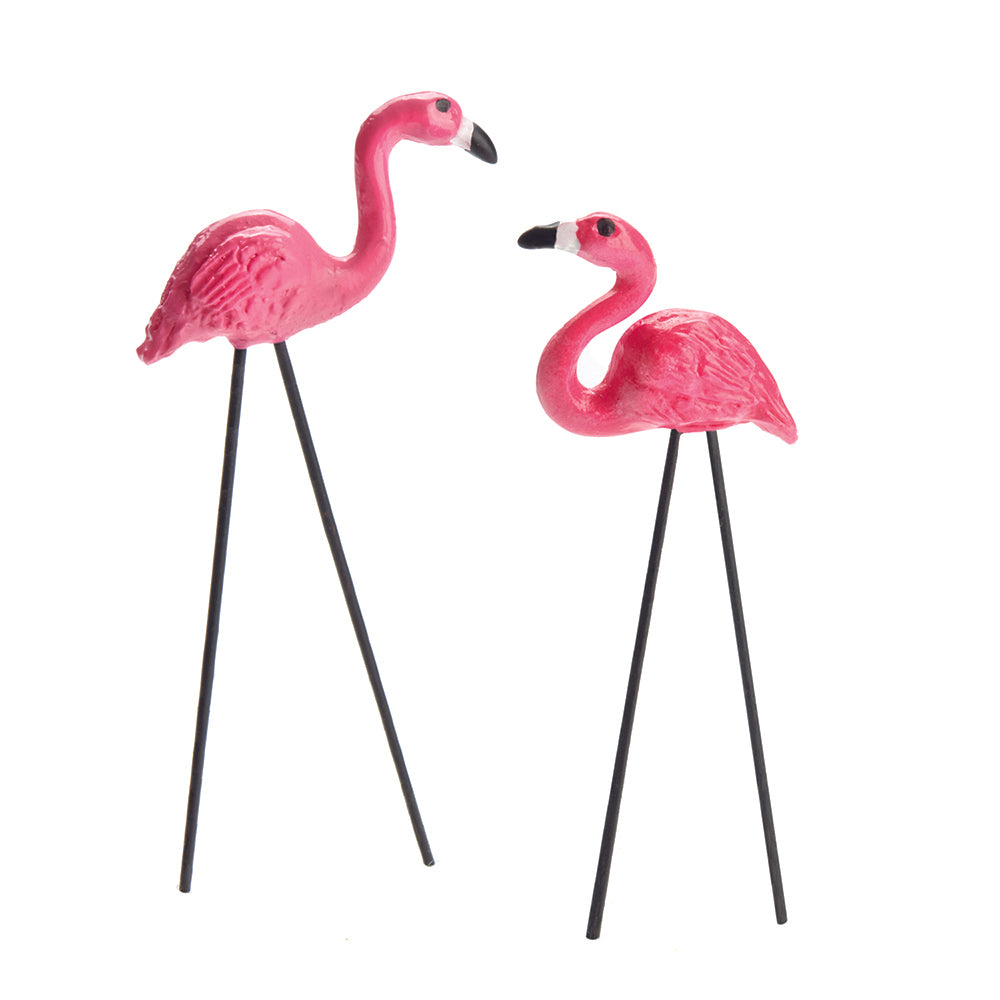 Retro Flamingo Picks (Set of 2)