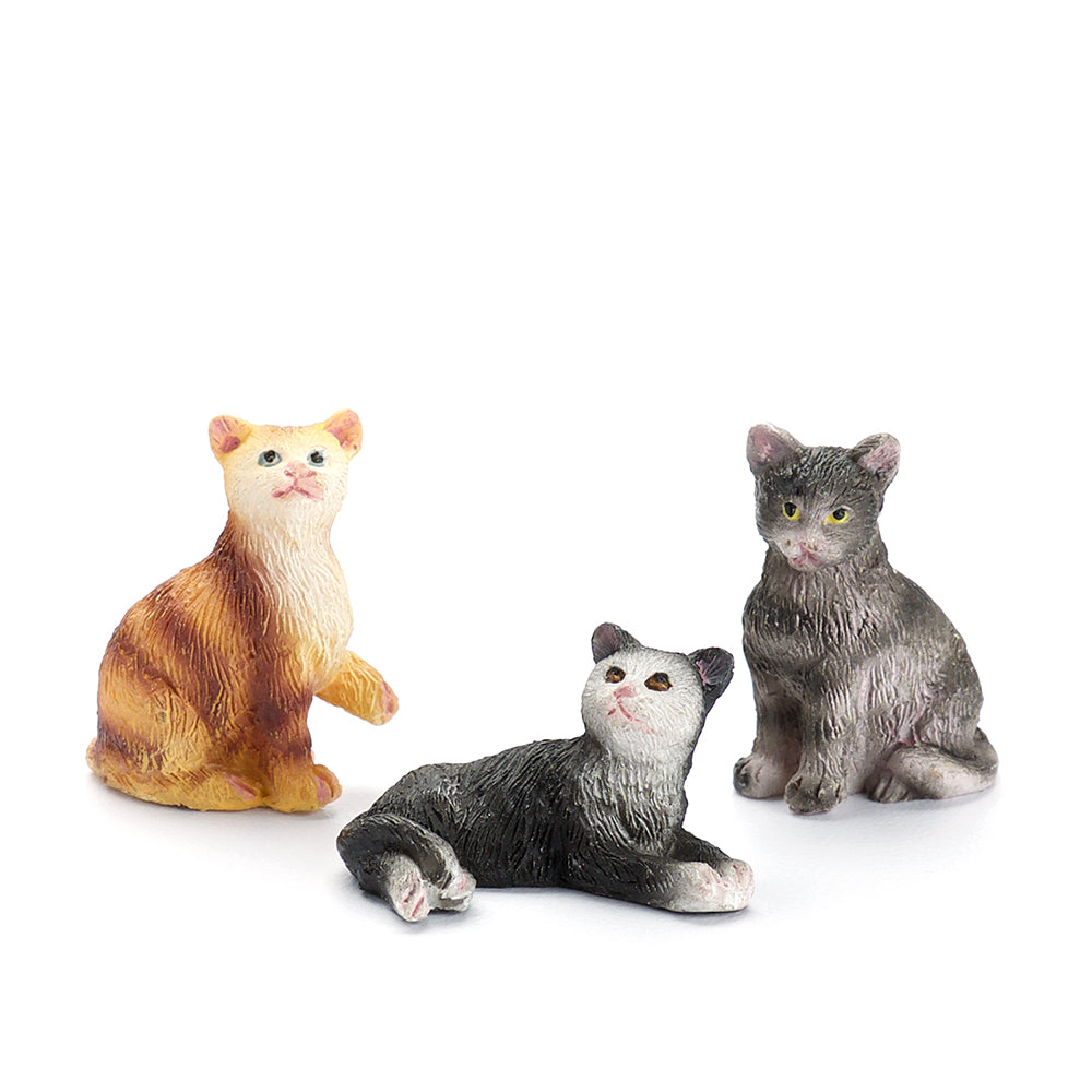 Miniature Cats Set (3 Pieces)