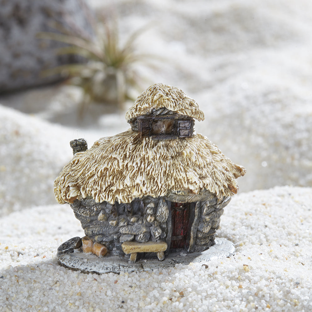 Thatched Roof Troll House