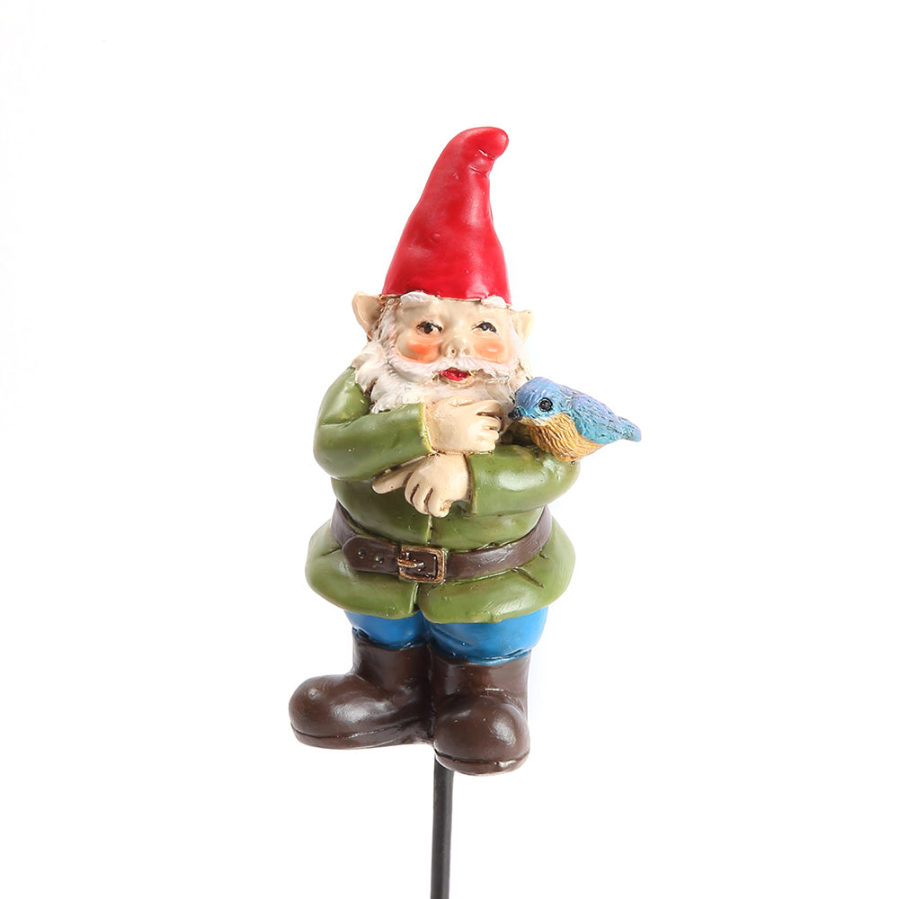 Sherman the Bluebird Gnome Pick