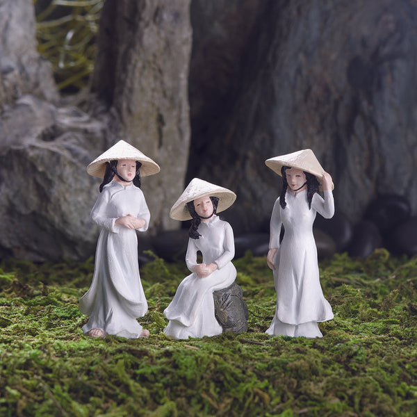 Ao Dai Girls Picks (3 Pieces)