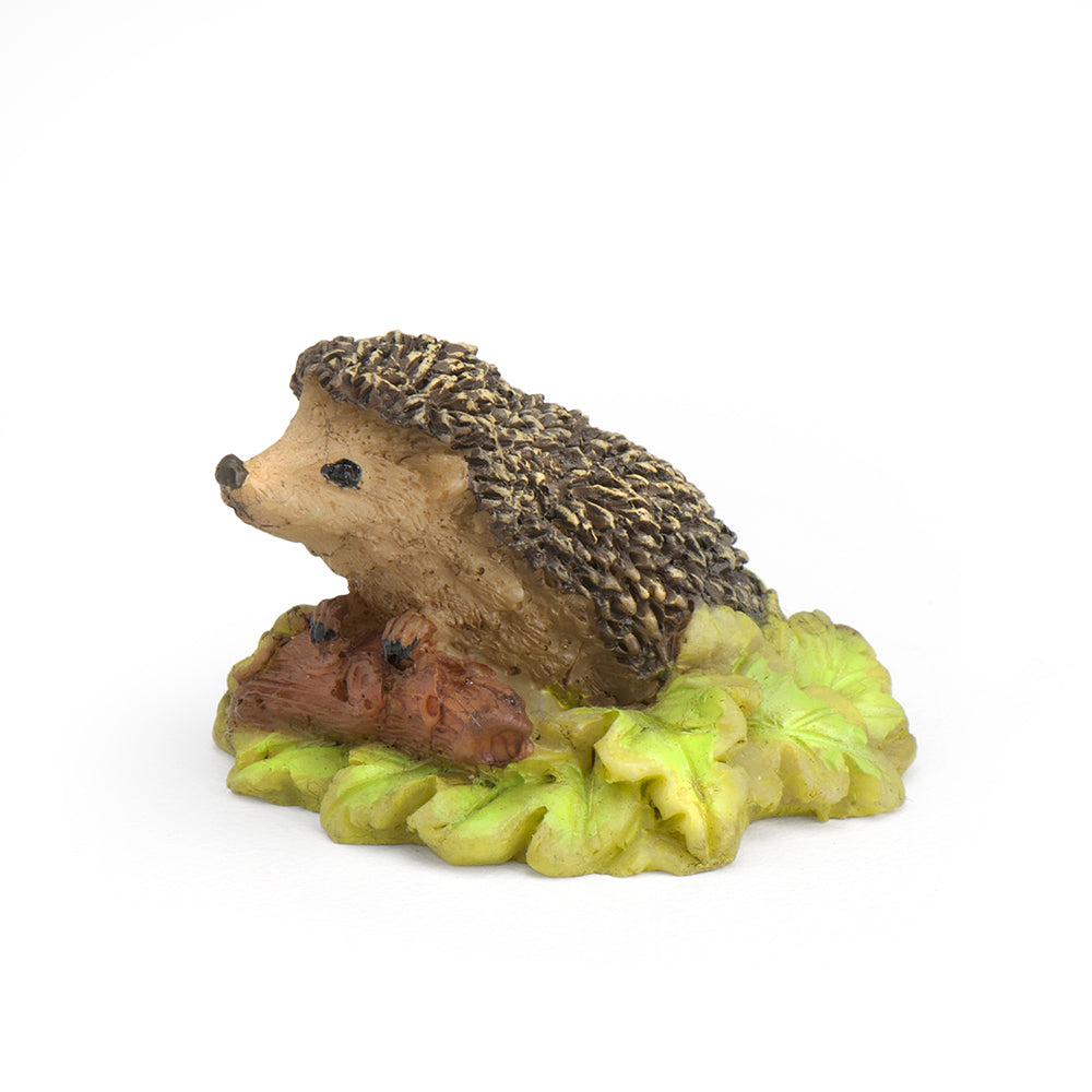 Hedgehog w/ Leaves