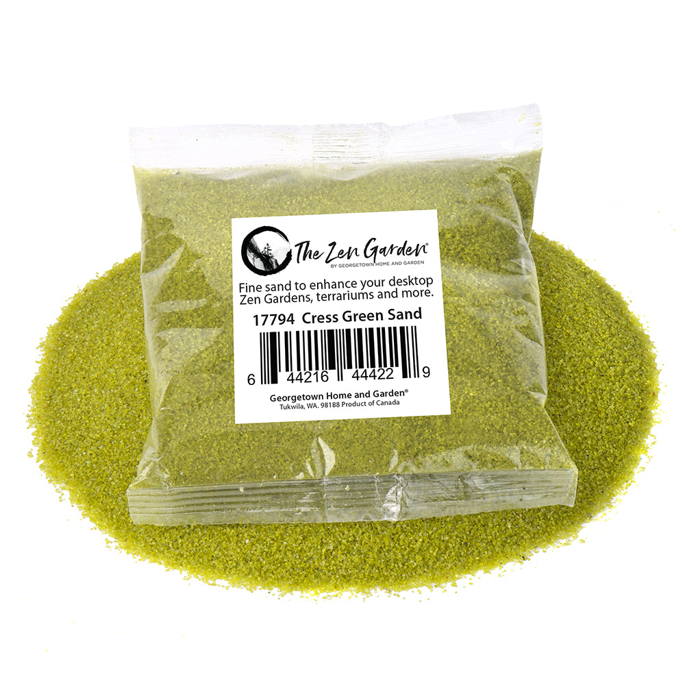 Cress Green Pattern Sand, 8 oz.