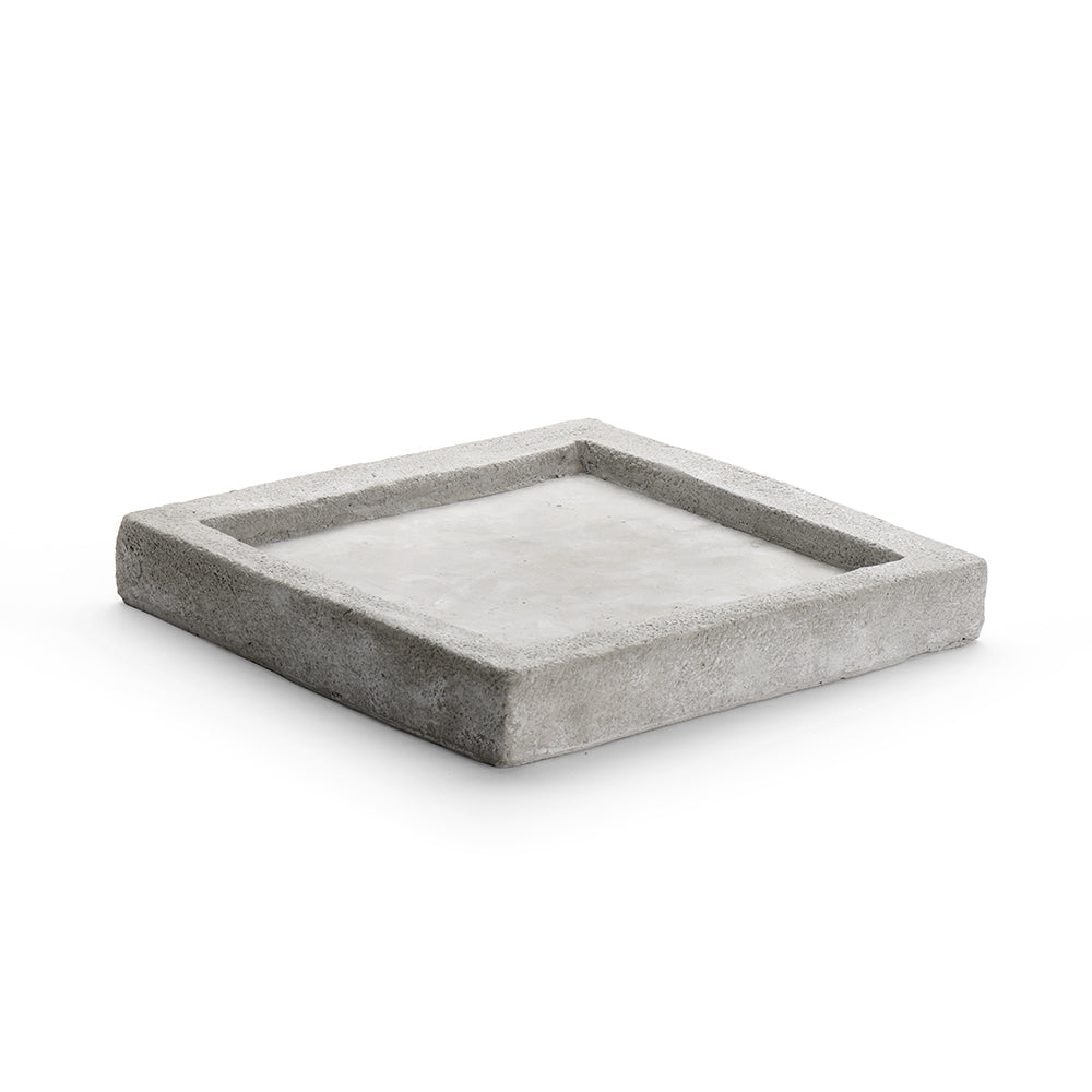 Square Sand Plate, Cement