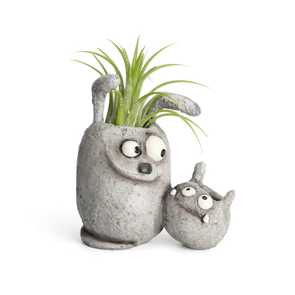 Best Buds the Dogs Double Planter