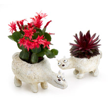 Load image into Gallery viewer, Mom 'n Me Polar Bear Planters (Set of 2)