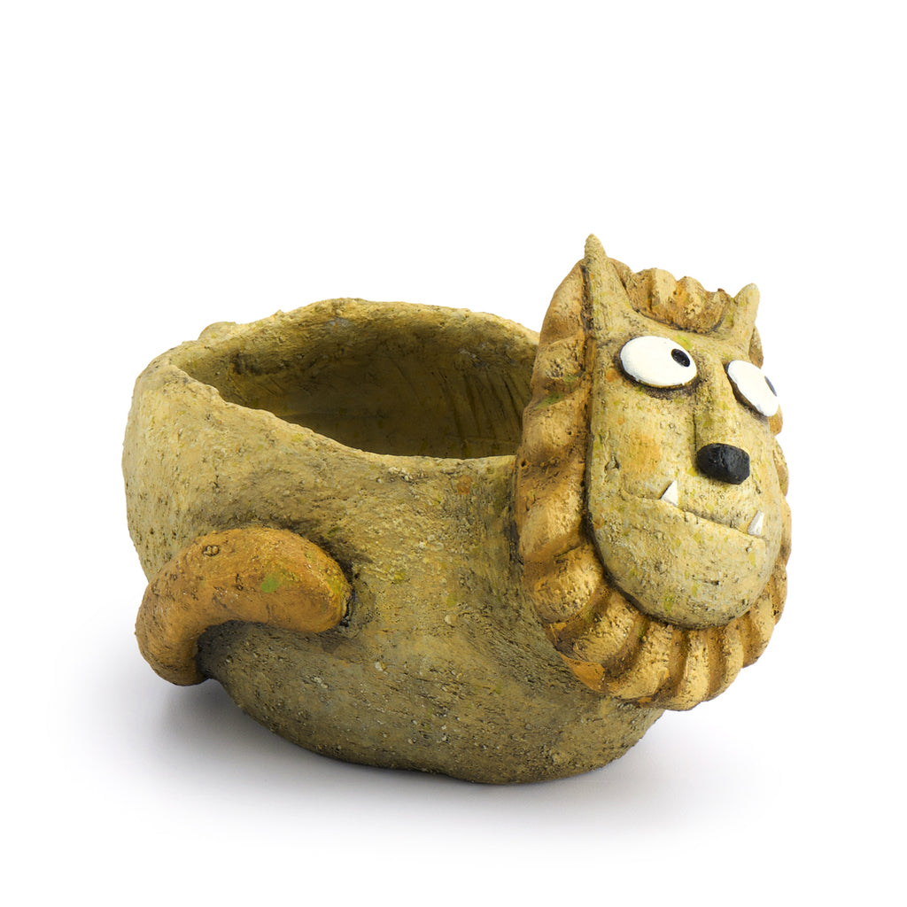 Simba the Lion Planter