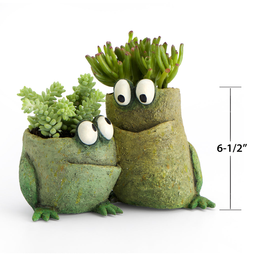 Frog Pals Double Planter