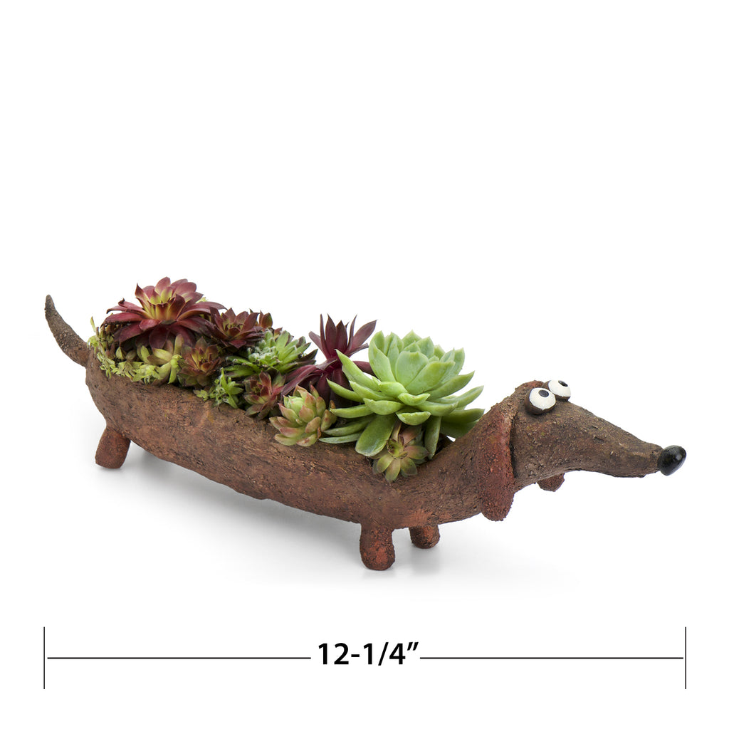 Rufus Doxin the Dog Planter