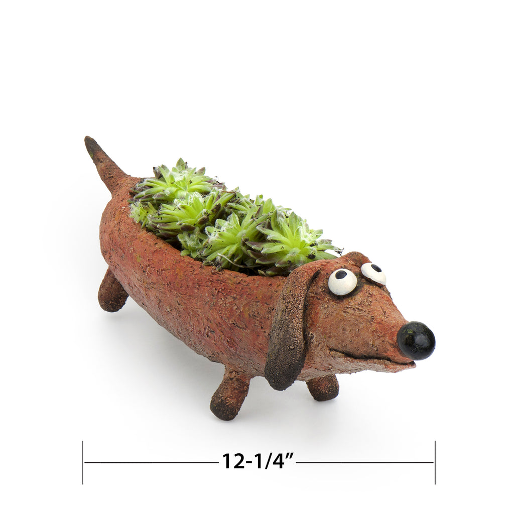 Dobby Doxin the Dog Planter