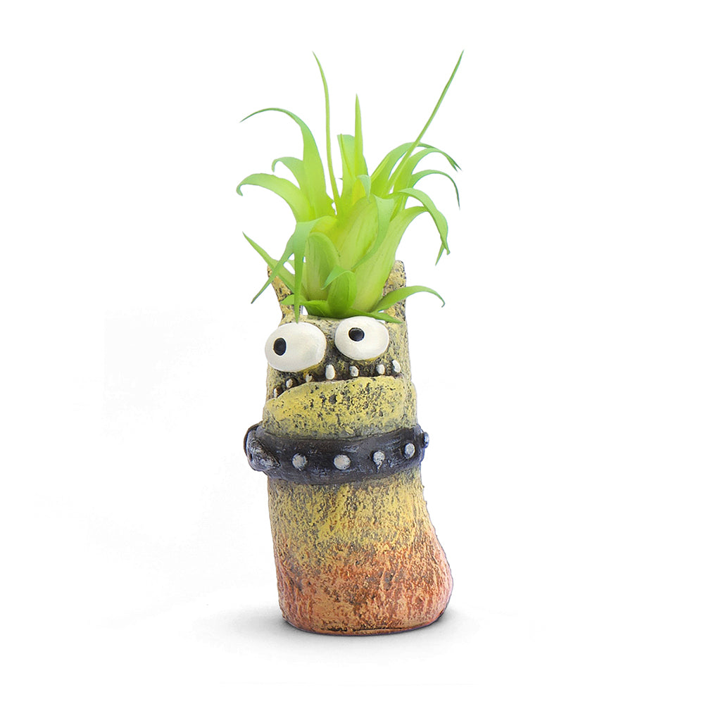 Diesel the Monster Bloomies Planter, Yellow
