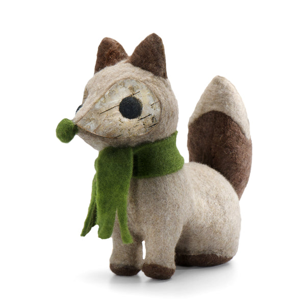 Fox w/ Green Scarf