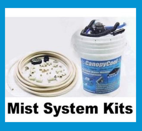Canopy Cool Mist System Kits