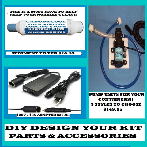 Misting and Electrical - Parts & Accessories