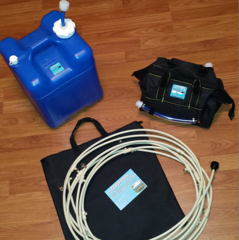 """CBX"" Carry Bag System kit w/20hr+ Battery w/7gal Water Carrier"