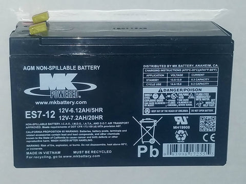 Medium Size 12 Volt Battery Only