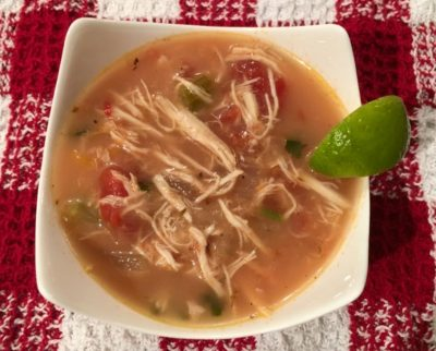 Cheechako Taco Pulled Chicken Soup