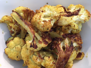 Twisted Curry Roasted Cauliflower