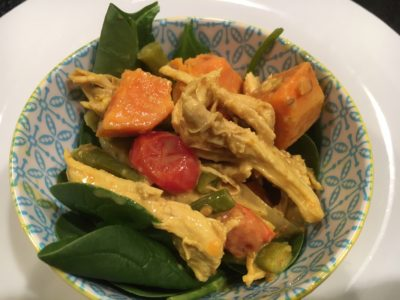 Twisted Turkey Veggie Curry