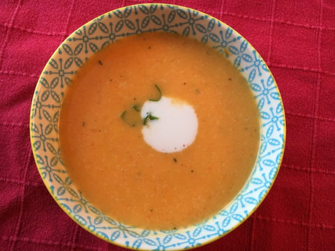 Twisted Thai Sweet Potato Soup