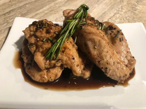 Sweet Morel Balsamic Chicken