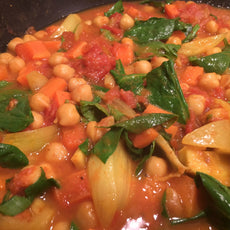 Twisted Chickpea Curry