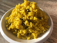 Twisted Curry Jasmine Rice Side Dish