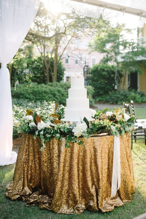 Sequin Tablecloths