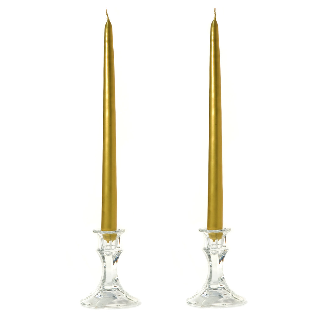 "Taper Candles (12 Set) 6""-15"" - Dripless 32 Colors"