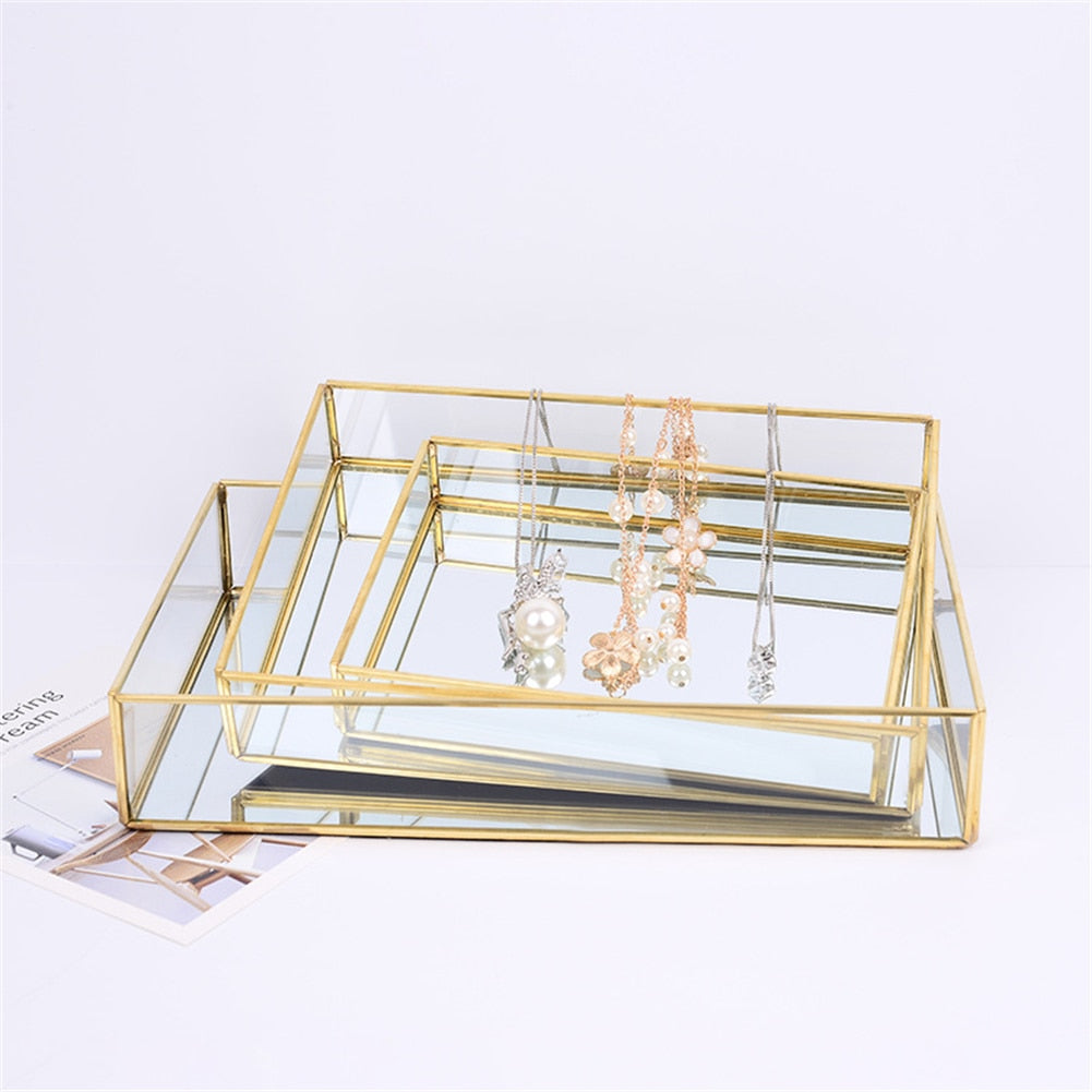 Glass Tray Box