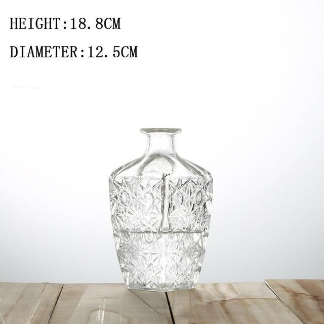 Crystal Glass Vintage Vases