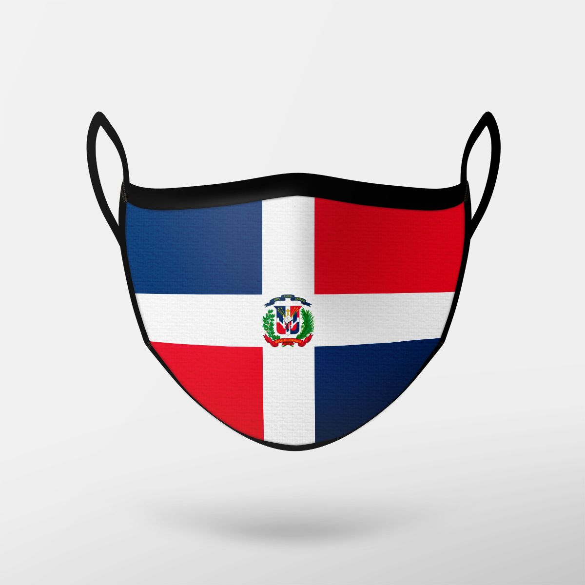 Dominican Republic Flag Mask