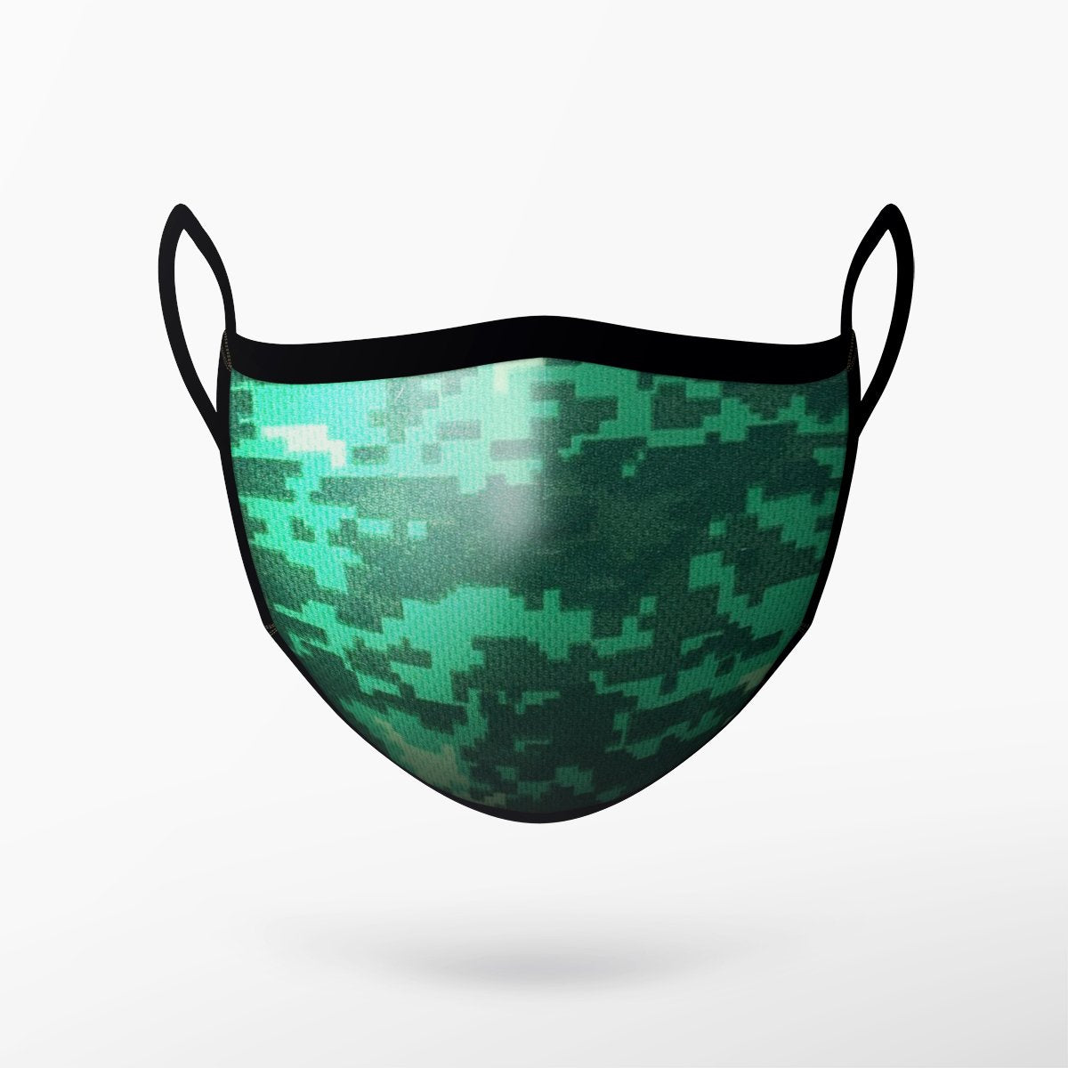 Camo Green Mask - Adult & Youth