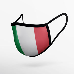 Italian Flag Mask - Adult Only