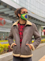 Load image into Gallery viewer, Brazil Flag Mask