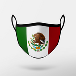 Load image into Gallery viewer, Mexico Flag Mask