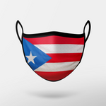 Load image into Gallery viewer, Puerto Rico Flag Mask