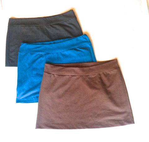 Hip Skirts~ Solid Bands