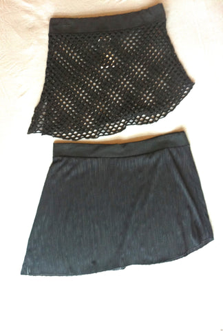 Hip Skirts~ Assorted Black